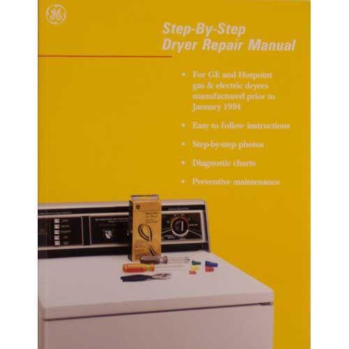 Wx10x116 Ge Hotpoint Dryer Repair Service Manual